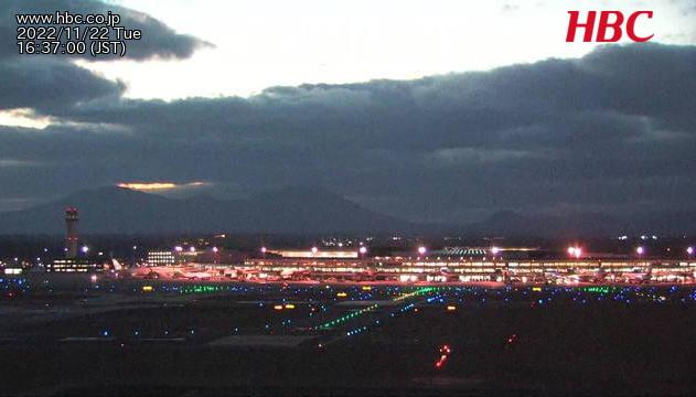 ライブ映像:新千歳空港