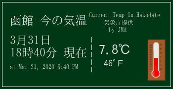 函館の気象情報