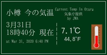 小樽の気象情報