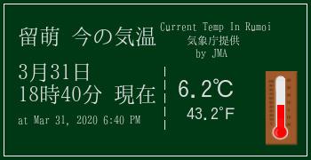 留萌の気象情報