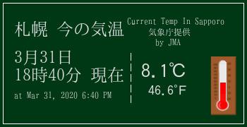 札幌の気象情報
